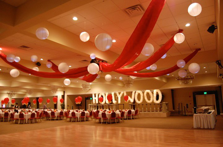 Party411   teen hollywood on oscar party centerpiece ideas