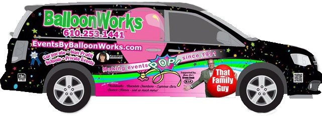 Balloon Works van